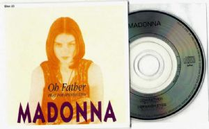 "OH FATHER - JAPAN  3"" CD (WPDR-3122)"